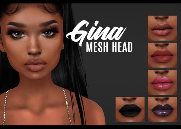 IMVU mesh heads - gina