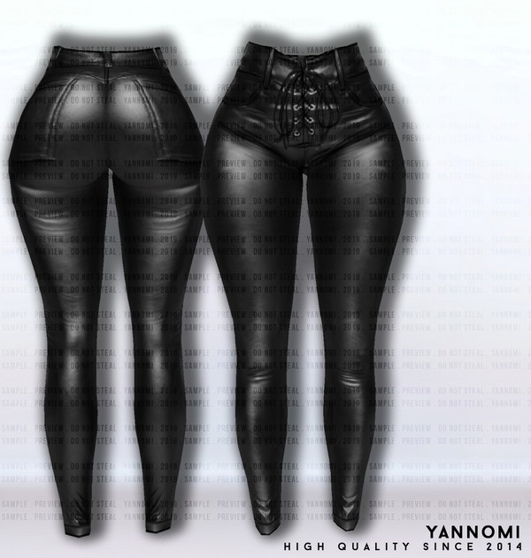 IMVU FILE SALES 2019: Fall Collection | Leather pants v.1