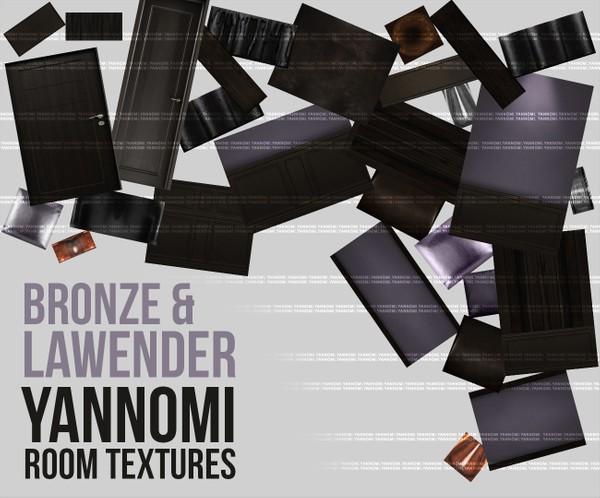 YANNOMI IMVU FS: bronze & lavender