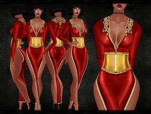 :: CERSEI INSPIRED DRESS ::