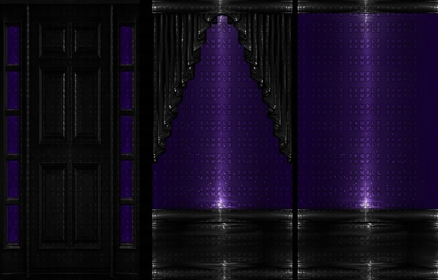 [ PVC ROOM TEXTURES - PURPLE ]