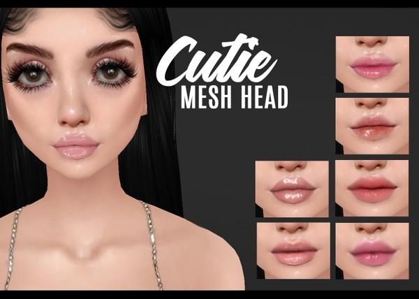 IMVU mesh heads - cutie