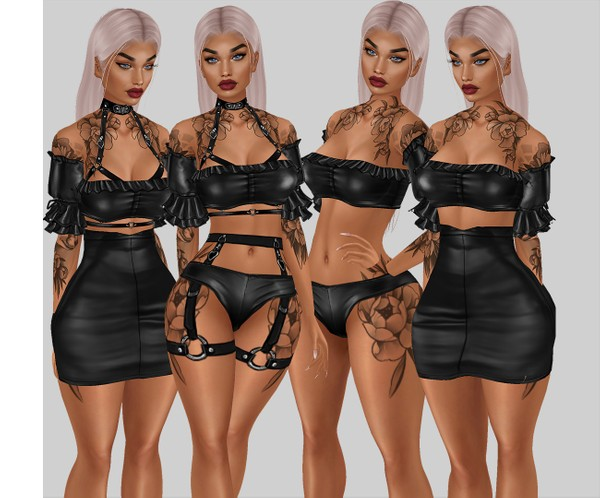 IMVU file sales leather -  frills fulloutfit
