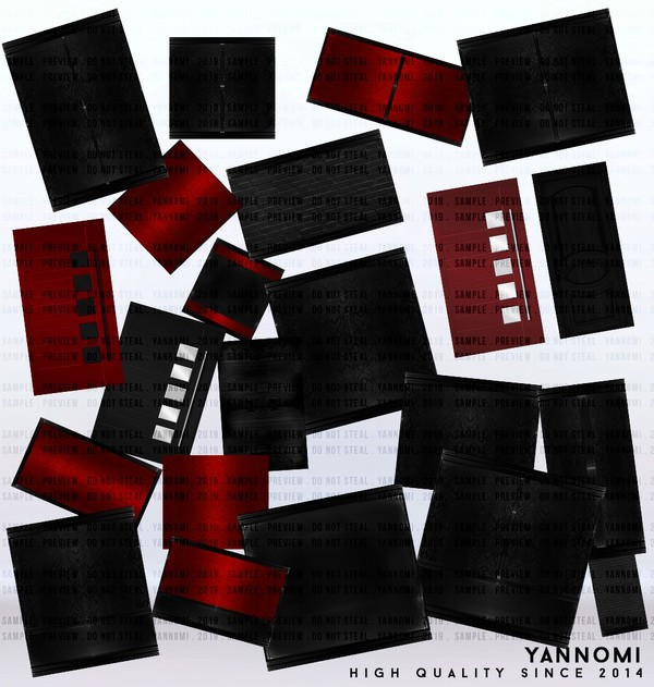 YANNOMI IMVU FS: room pack red