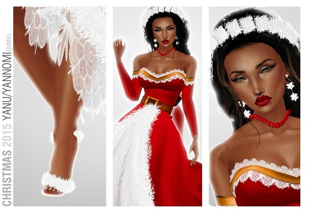 :: XMAS GOWN + ACCESORIES ::