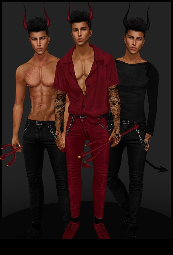 [ IMVU: male vampire king set ]