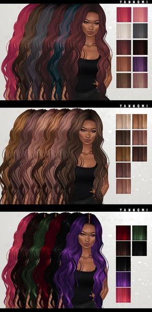 IMVU HAIR TEXUTRE PACK - all of them!!