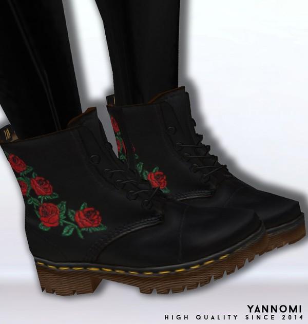 IMVU file sales: dr.martens combat boots