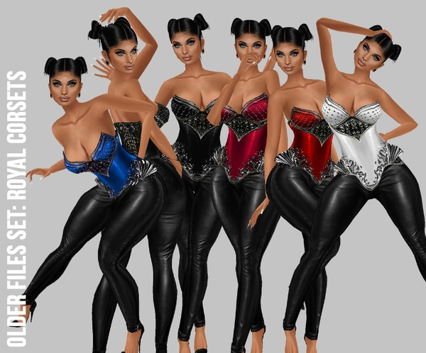 IMVU file sales: royal corsets