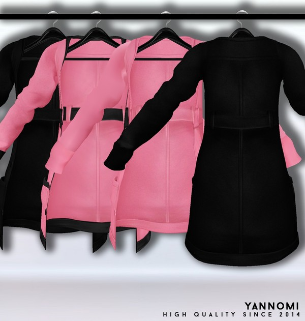 IMVU FILE SALES 2019: Fall Collection | Layerable coat