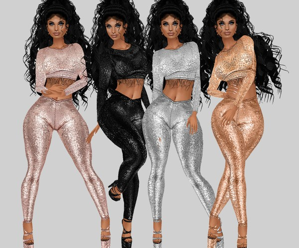 IMVU file sales: sequin and tattoos: long sleeve top