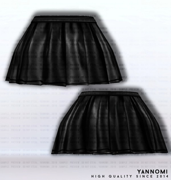 IMVU FILE SALES 2019: Fall Collection   Platted Skirt