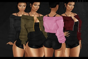 IMVU 2018: bomber jacket layerable