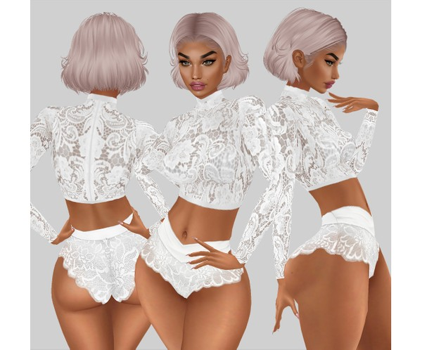 IMVU file sales - white lace - top 5