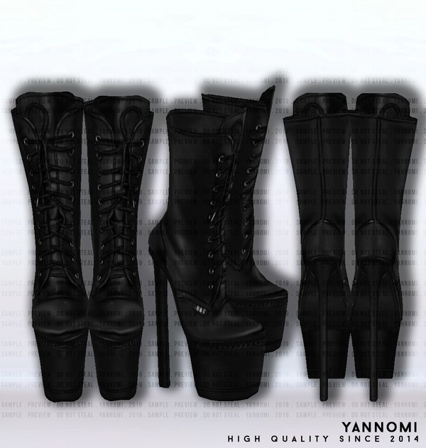 IMVU FILE SALES 2019: Fall Collection | Leather Boots v.1