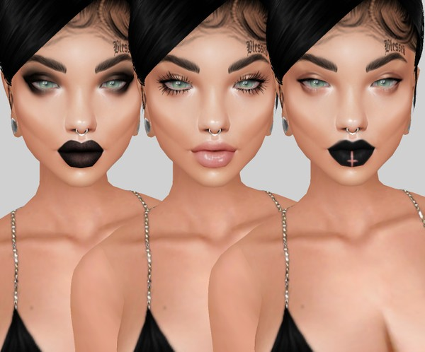 IMVU mesh heads - wednesday