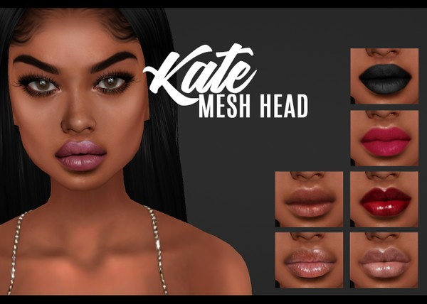 IMVU mesh heads - kate