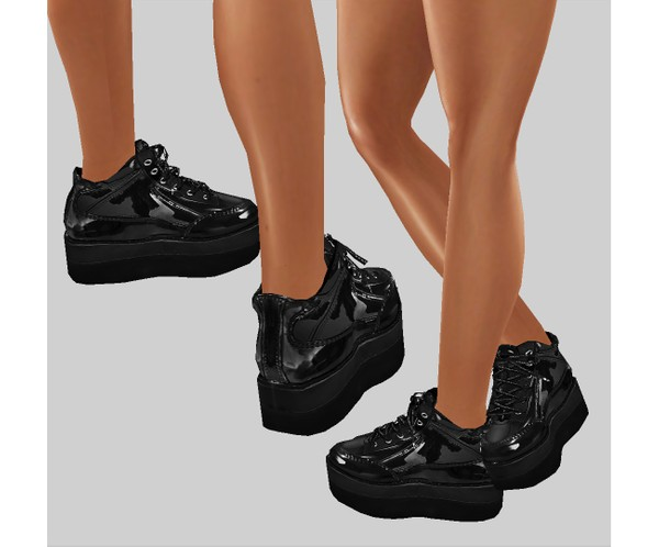 IMVU file sales - latex sneakers