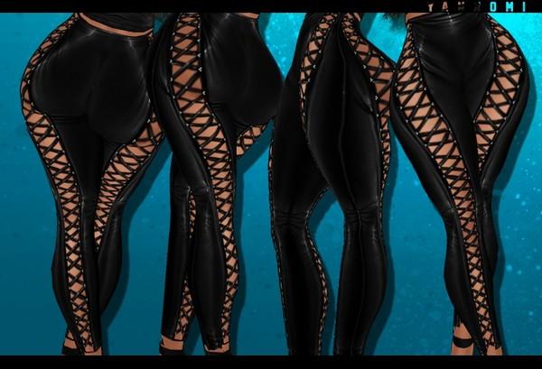 IMVU 2018: pvc corset pants