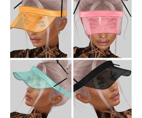 IMVU file sales - SUMMER - cap, visor
