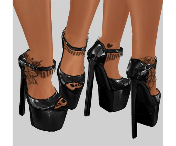 IMVU file sales: vinyl collection - heels