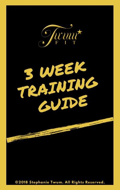TwumFit 3-Week Training Guide
