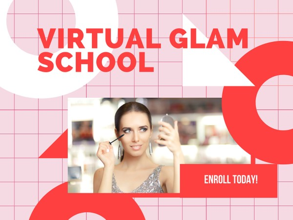 Virtual Glam School Enrollment