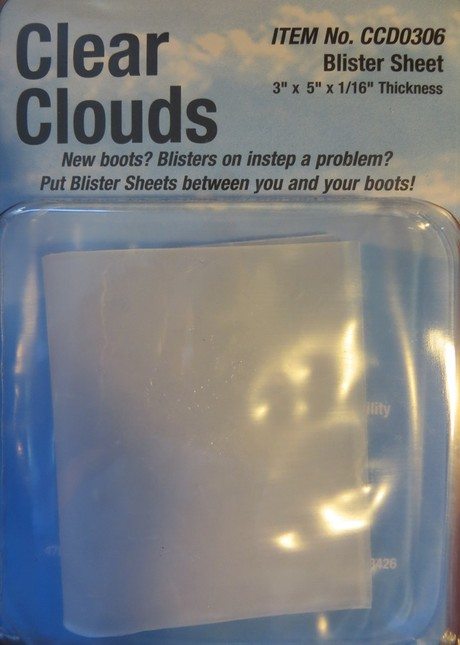 Clear Clouds Blister Sheet Protection