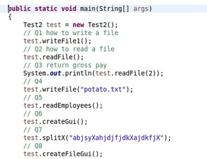 UTA Java 2 Test 2 Review