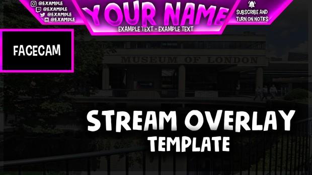 Stream Overlay Template