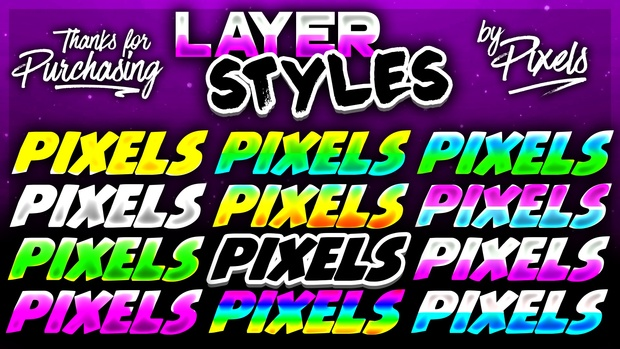 Custom Layer Styles Pack