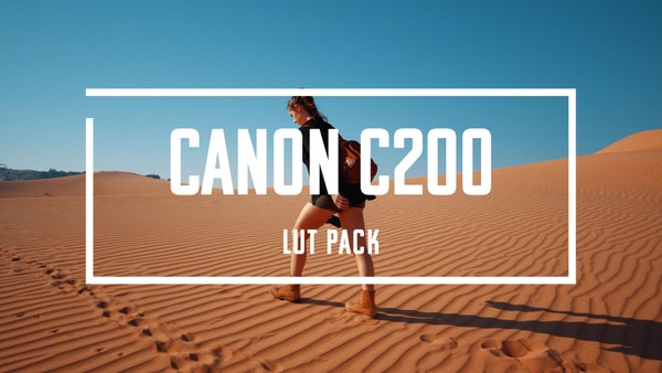 Canon Cinema Lut Pack - C200/300/500