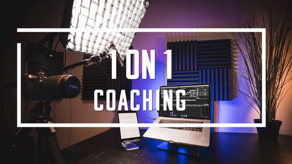 1 on 1 Coaching & Consulting. Photoshop, Lightroom, Final Cut, Gear & Business!