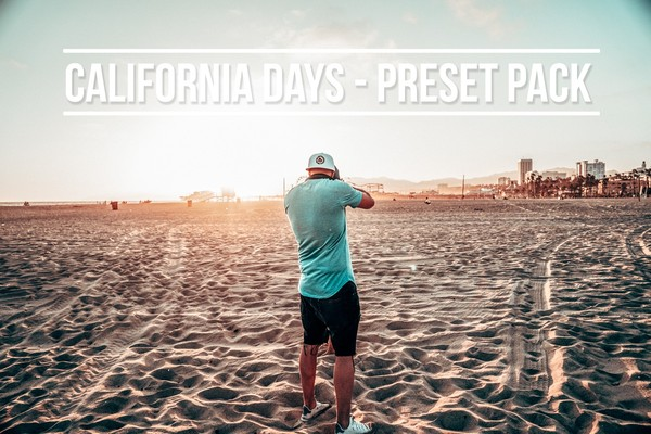 California days preset pack