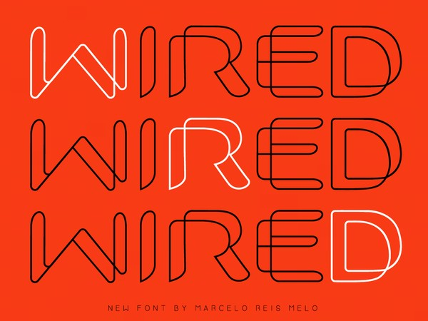 WIRED FONT
