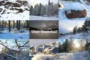 15 free images Winter Wonderland