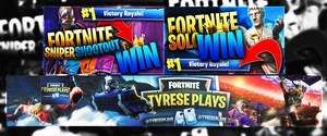 [FORTNITE] - YouTube Banner & 2 Thumbnails Artwork
