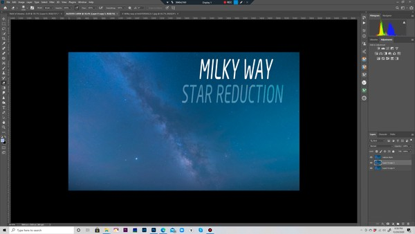 Milky Way star reduction