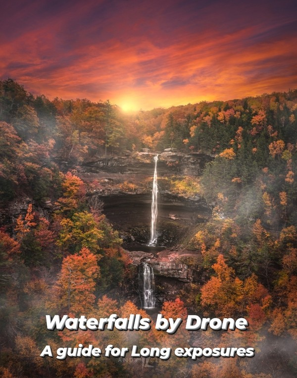 Waterfalls by Drone a Guide to Long Exposures