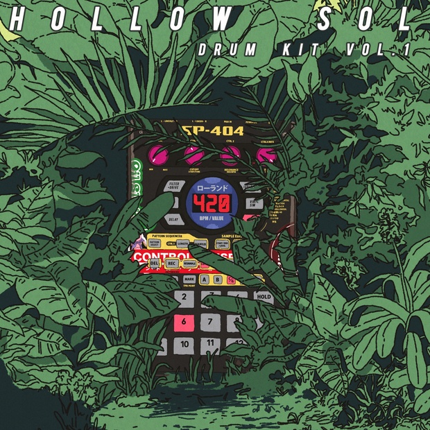 hollow sol lofi drum kit vol. 1