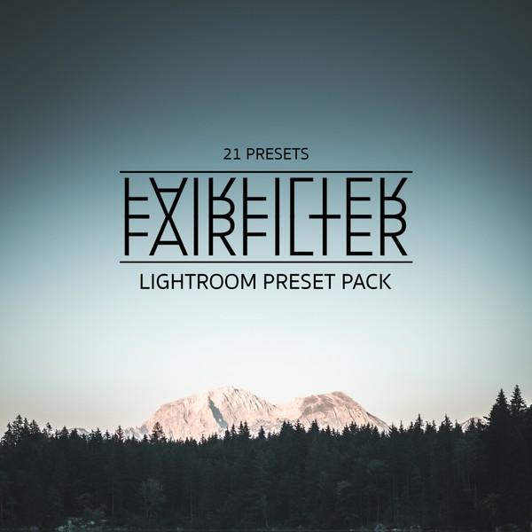 FAIRFILTER - LR Preset Pack (21 Presets)