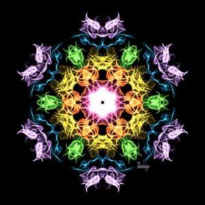 Abstract mandala 1