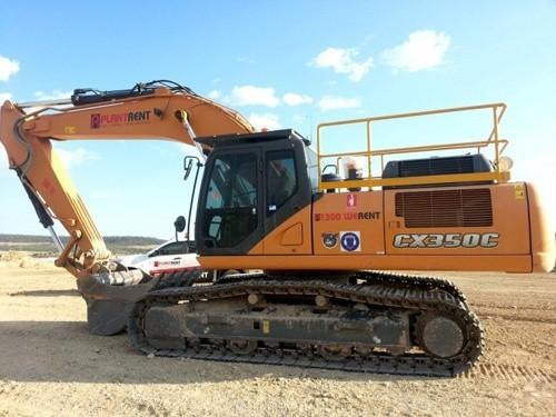 Case CX350C Tier 4 Crawler Excavator Service Repair Manual