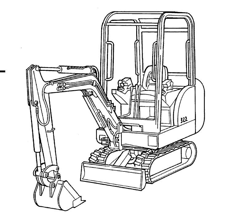 Bobcat T320 Safety Manuals