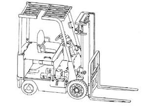 Mitsubishi 2FBC15 - 2FBC30 Forklift Trucks Service Repair Manual Download