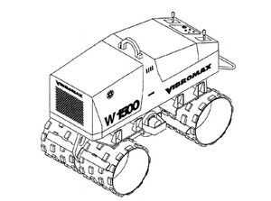 Vibromax W1500 Trench Roller Service Repair Manual Download 2
