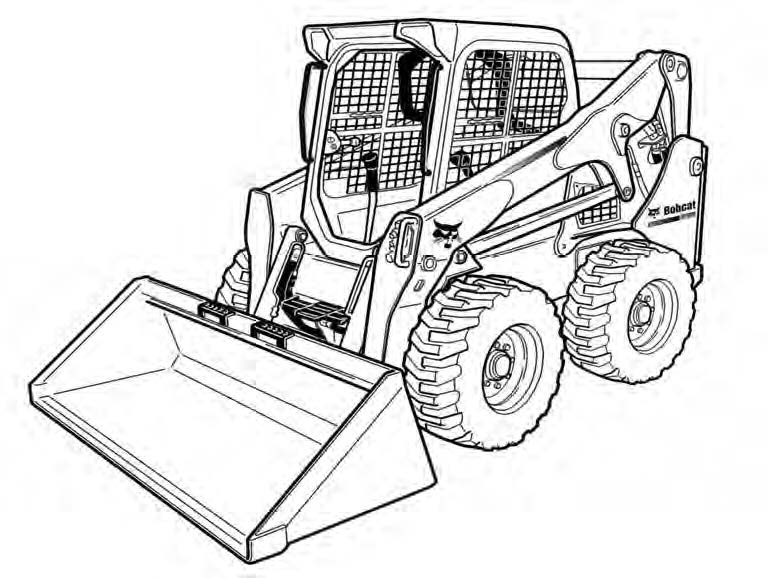 Bobcat S770 Skid Steer Loader Service Repair Manual Do