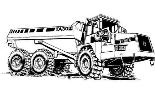 terex ta30 articulated dumptruck service repair manual rh sellfy com terex ta 30 service manual terex ta 30 service manual