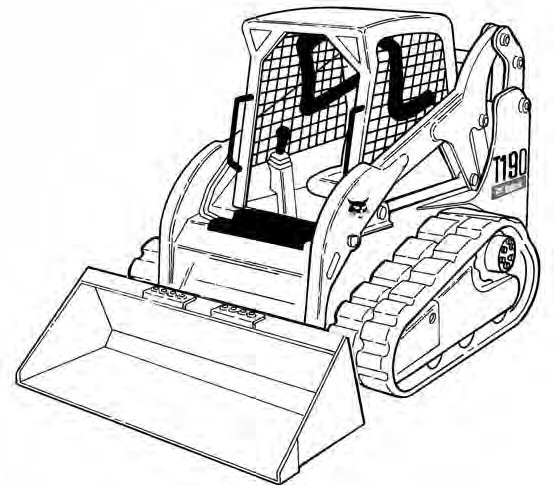 Bobcat T190 Compact Track Loader Service Repair Manual