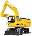 Hyundai Wheeled Excavator R210W-9S Service Repair Manual Download